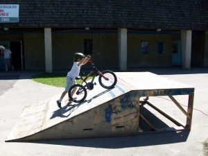 zach bike ramp